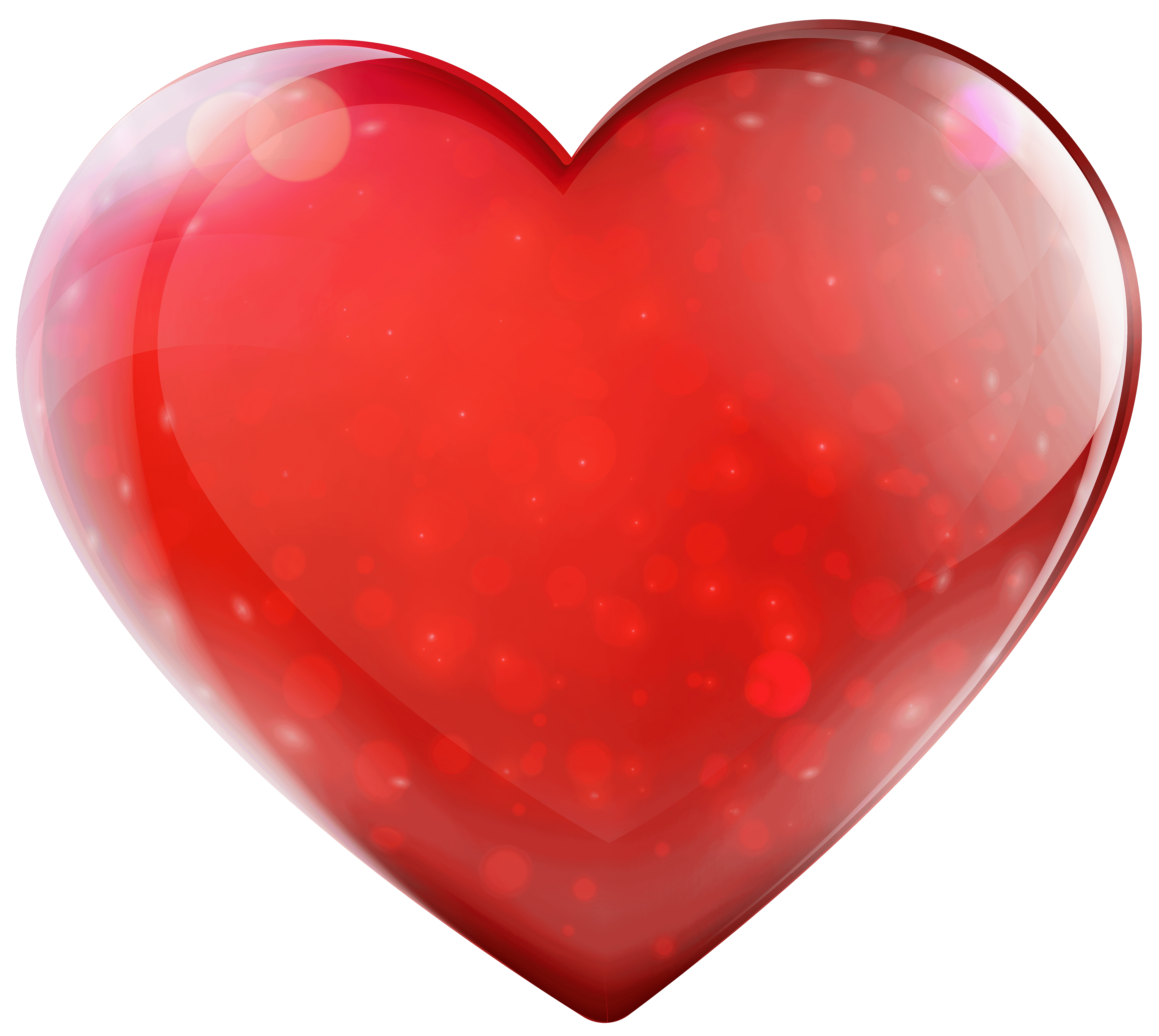 Glassy Heart Png Clipart - Heart, Transparent background PNG HD thumbnail