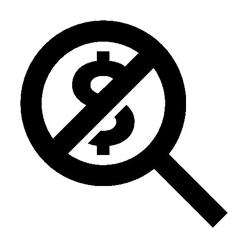 No Hidden Fee Icon - Hidden, Transparent background PNG HD thumbnail