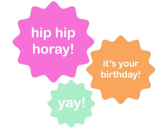 Hip Hip Hooray Its Your Birthday - Hip Hip Hooray, Transparent background PNG HD thumbnail