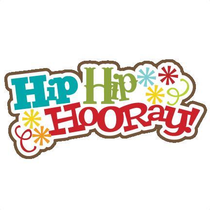 Hip Hip Hooray! Svg Scrapbook Title Birthday Svg Scrapbook Title Birthday Svg Files Free Svgs - Hip Hip Hooray, Transparent background PNG HD thumbnail