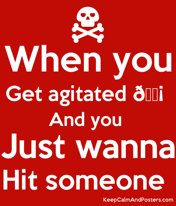 And You Just Wanna Hit Someone Poster - Hit Someone, Transparent background PNG HD thumbnail