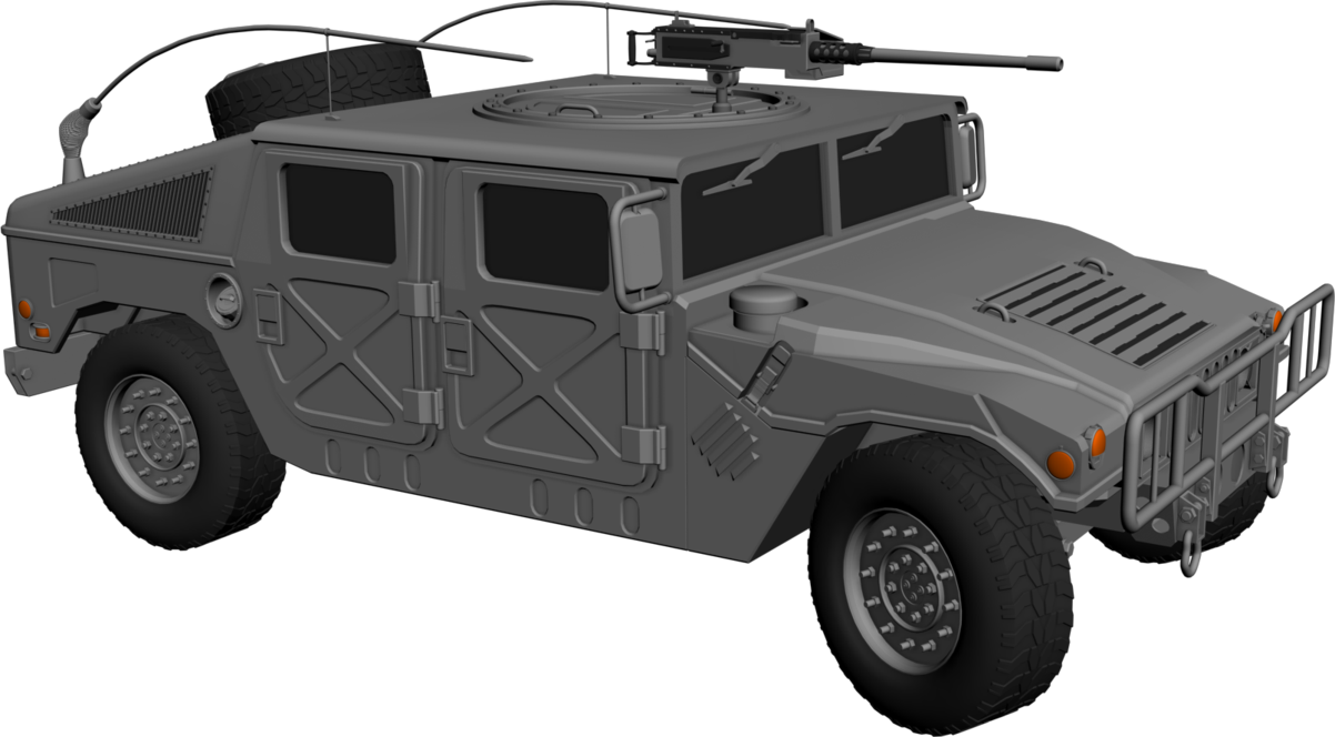 Humvee By Vlader08 Hdpng.com  - Hmmwv, Transparent background PNG HD thumbnail