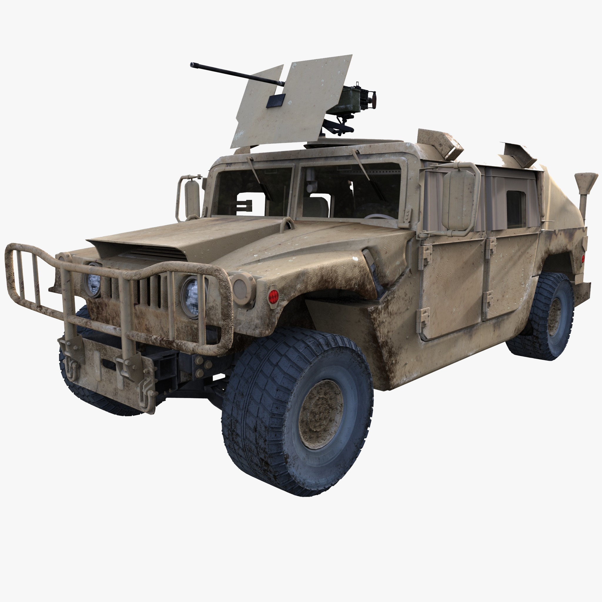 Humvee Military Hmmwv Model Available On Turbo Squid, The Worldu0027S Leading Provider Of Digital Models For Visualization, Films, Television, And Games. - Hmmwv, Transparent background PNG HD thumbnail