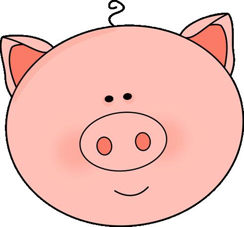 Pig Head Clipart - Hog Head, Transparent background PNG HD thumbnail