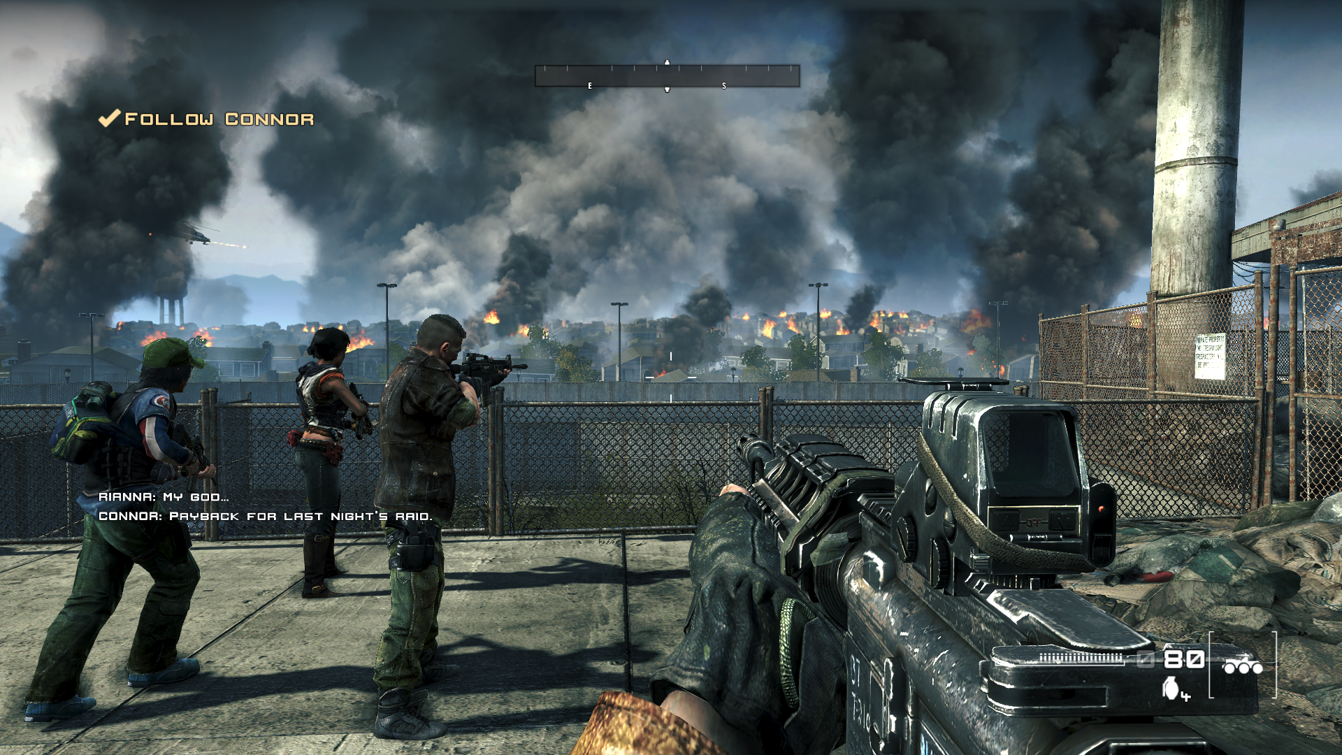 Homefront Windows Our Neighbourhood. Things Are Getting Worse From Hour To Hour. - Homefront Video Game, Transparent background PNG HD thumbnail