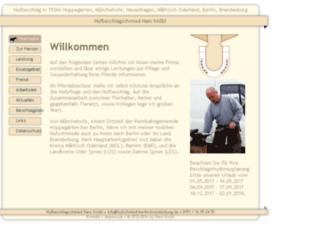 Hufschmied Berlin Brandenburg.de Screenshot - Hufschmied, Transparent background PNG HD thumbnail