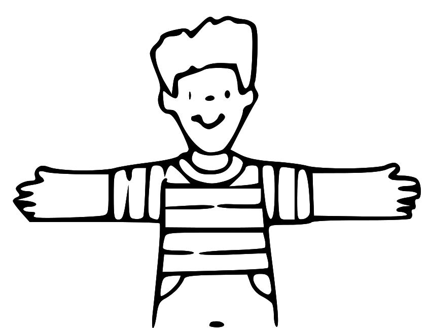 Lds Clipart: Hug Clip Art - Hug Black And White, Transparent background PNG HD thumbnail