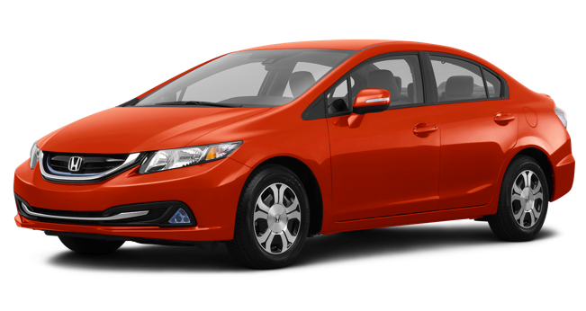 Hybrid Car Png - Honda Civic Hybrid, Transparent background PNG HD thumbnail