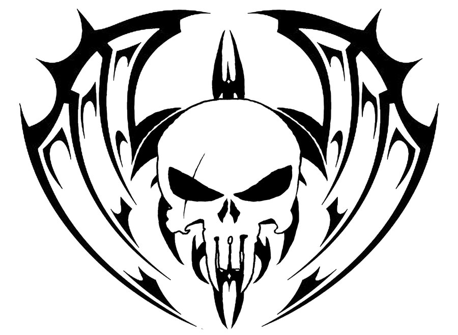 I Call This Pic Tattoo Because That Is What It Looks Like It Would Mainly Be - Tribal Skull Tattoos, Transparent background PNG HD thumbnail
