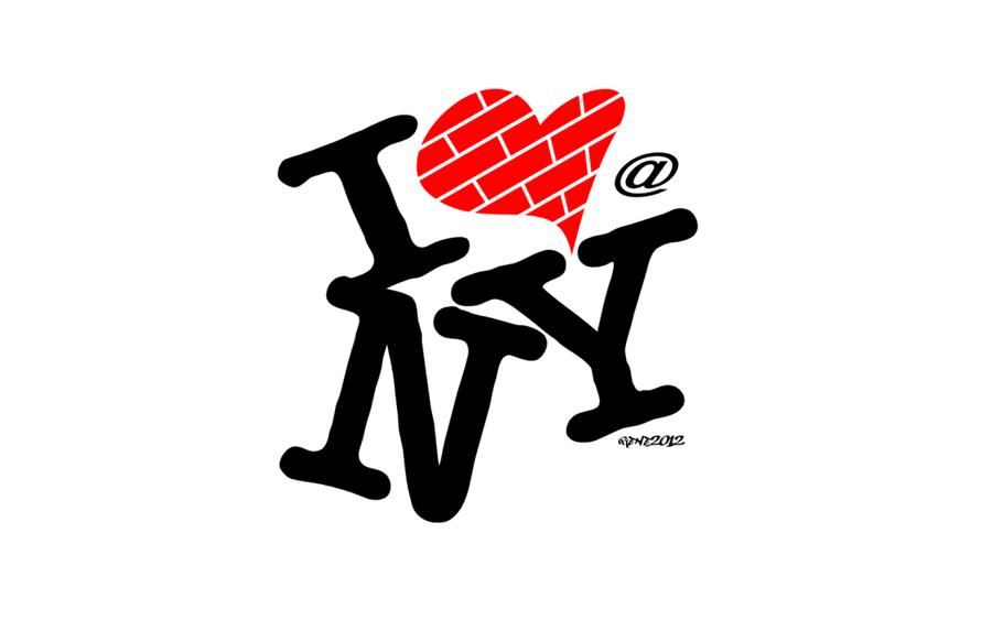 I Love New York Png - I Love New York   Art Logo By Elclon On Deviantart, Transparent background PNG HD thumbnail