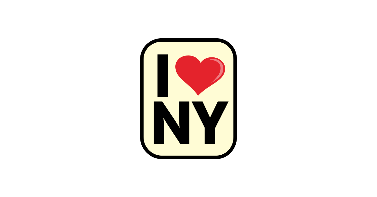 I Love New York Png - I Love New York Sign Png, Transparent background PNG HD thumbnail