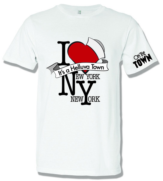 I Love New York Png - On The Town The Broadway Musical   I Love New York T Shirt   Town005 Hdpng.com , Transparent background PNG HD thumbnail