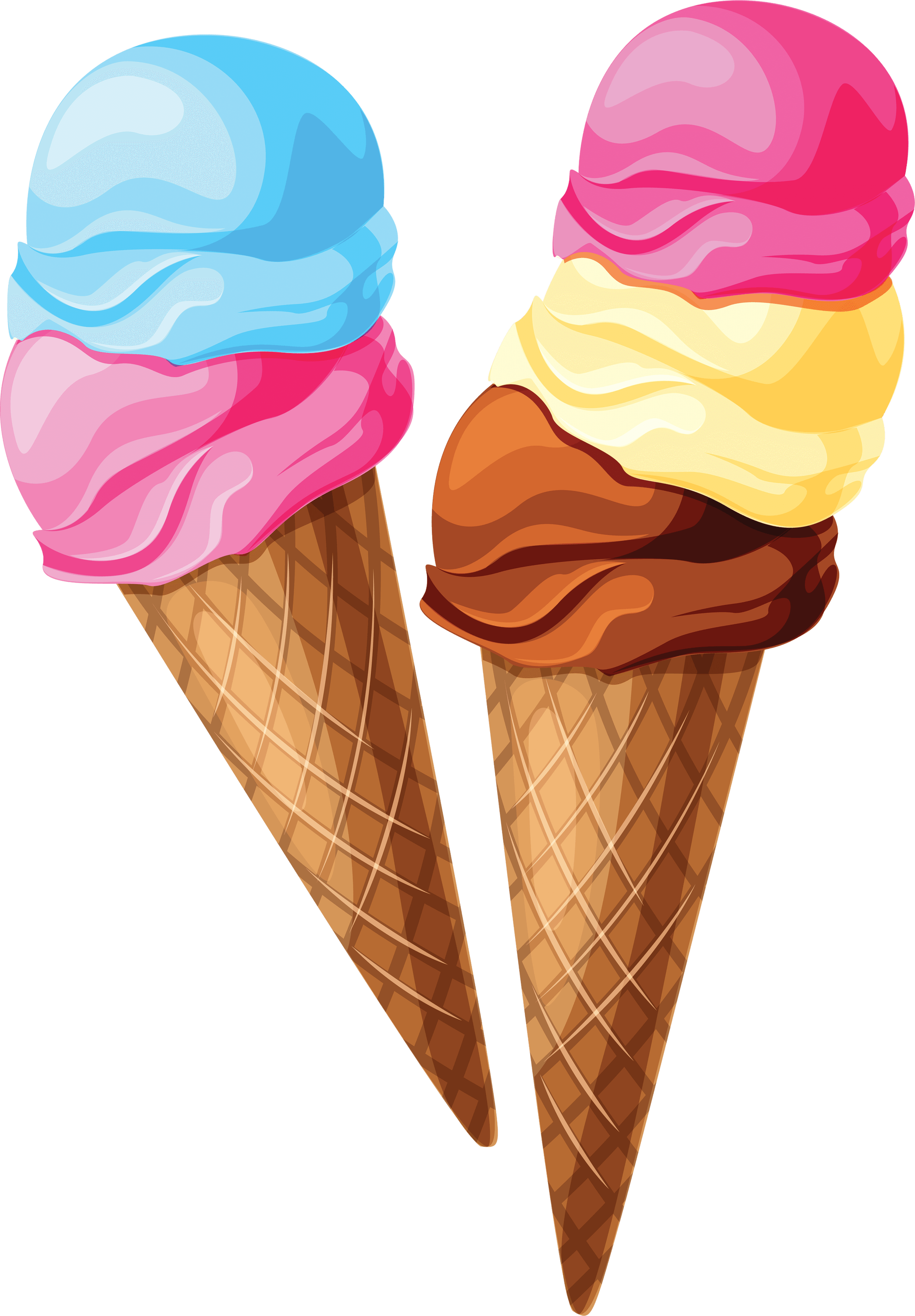 Cliparts Ice Cream - Ice Cream Background, Transparent background PNG HD thumbnail