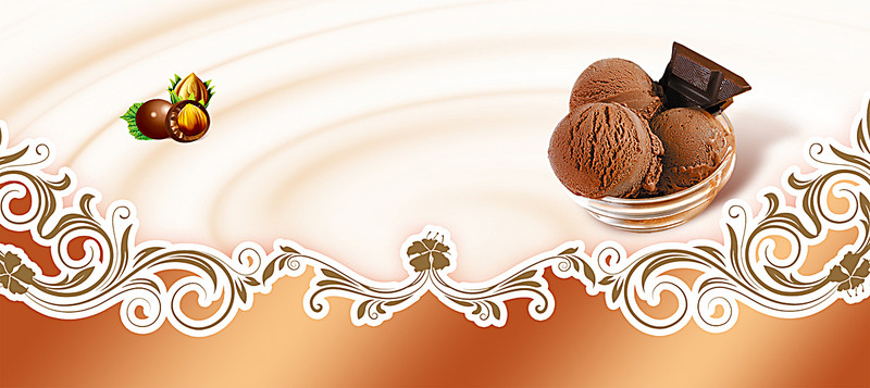 Dessert Ice Cream Background Banner - Ice Cream Background, Transparent background PNG HD thumbnail