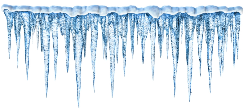 Icicles Border Clipart - Icicle Border, Transparent background PNG HD thumbnail