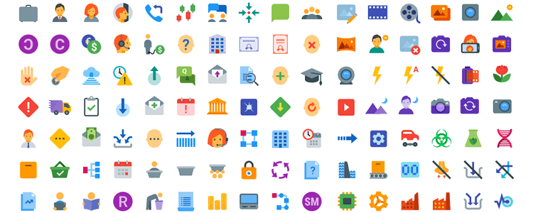 Flat Color Icons - Icon Set, Transparent background PNG HD thumbnail
