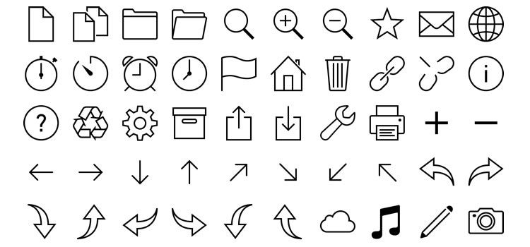 Ios 7 Icons In Vector Svg U0026 Png Best Free Icon Sets - Icon Set, Transparent background PNG HD thumbnail