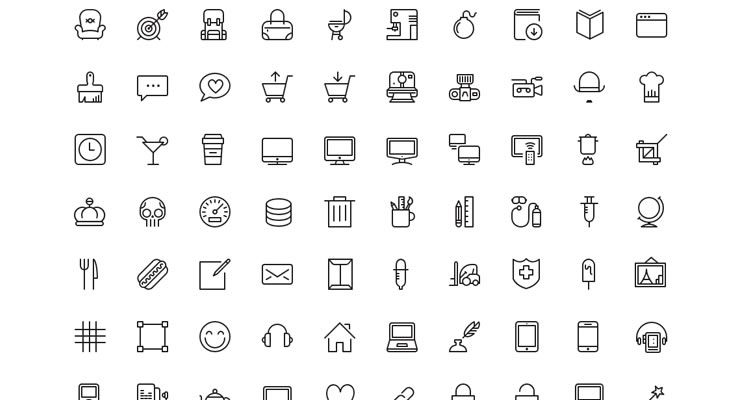 Ios7 Vector Icons 100 Icons Photoshop Custom Shape Png Webfont Formats Freebie - Icon Set, Transparent background PNG HD thumbnail
