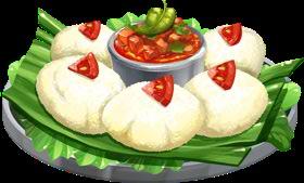 File:recipe Idli With Tomato Chutney.png - Idli, Transparent background PNG HD thumbnail