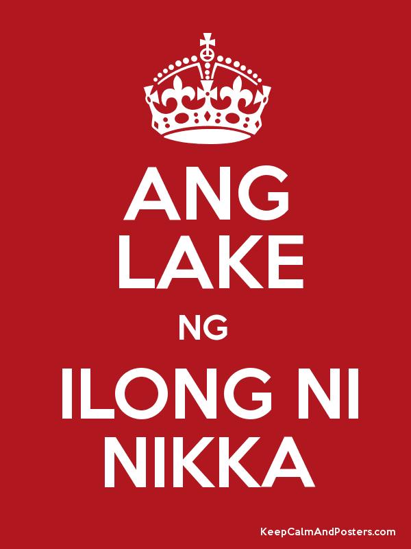 Ang Lake Ng Ilong Ni Nikka Poster - Ilong, Transparent background PNG HD thumbnail