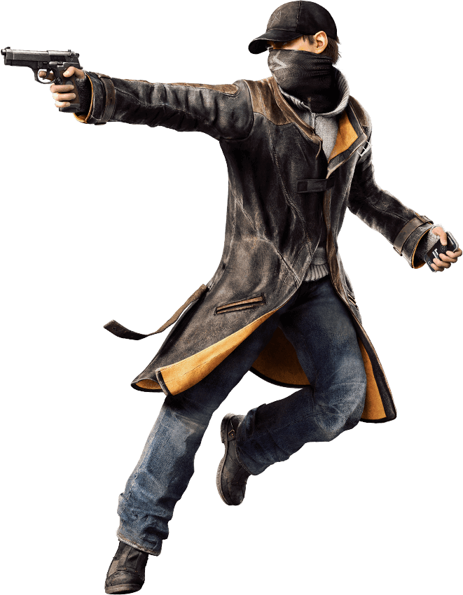 Image   Aiden Pearce.png | Universe Of Smash Bros Lawl Wiki | Fandom Powered By Wikia - Watch Dogs, Transparent background PNG HD thumbnail