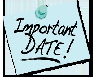 Important Dates: - Important Dates, Transparent background PNG HD thumbnail