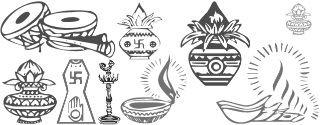 Indian Wedding PNG Fonts