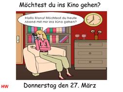 Möchtest Du Ins Kino Gehen.pptx - Ins Kino Gehen, Transparent background PNG HD thumbnail