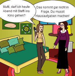 Warte Mutti, Darf Ich Heute Abend Mit Steffi Ins Kino Gehen? - Ins Kino Gehen, Transparent background PNG HD thumbnail