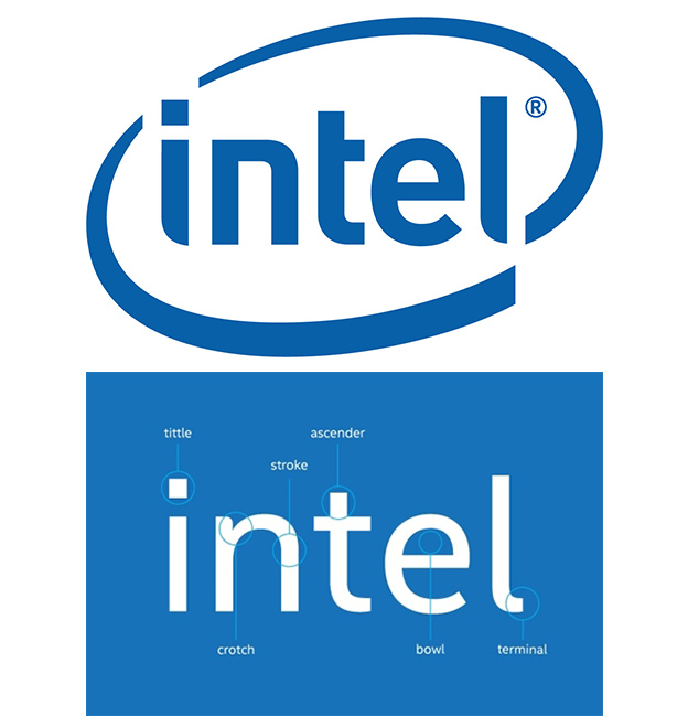 Graphics Intel Logo Color - Intel type, Transparent background PNG HD thumbnail