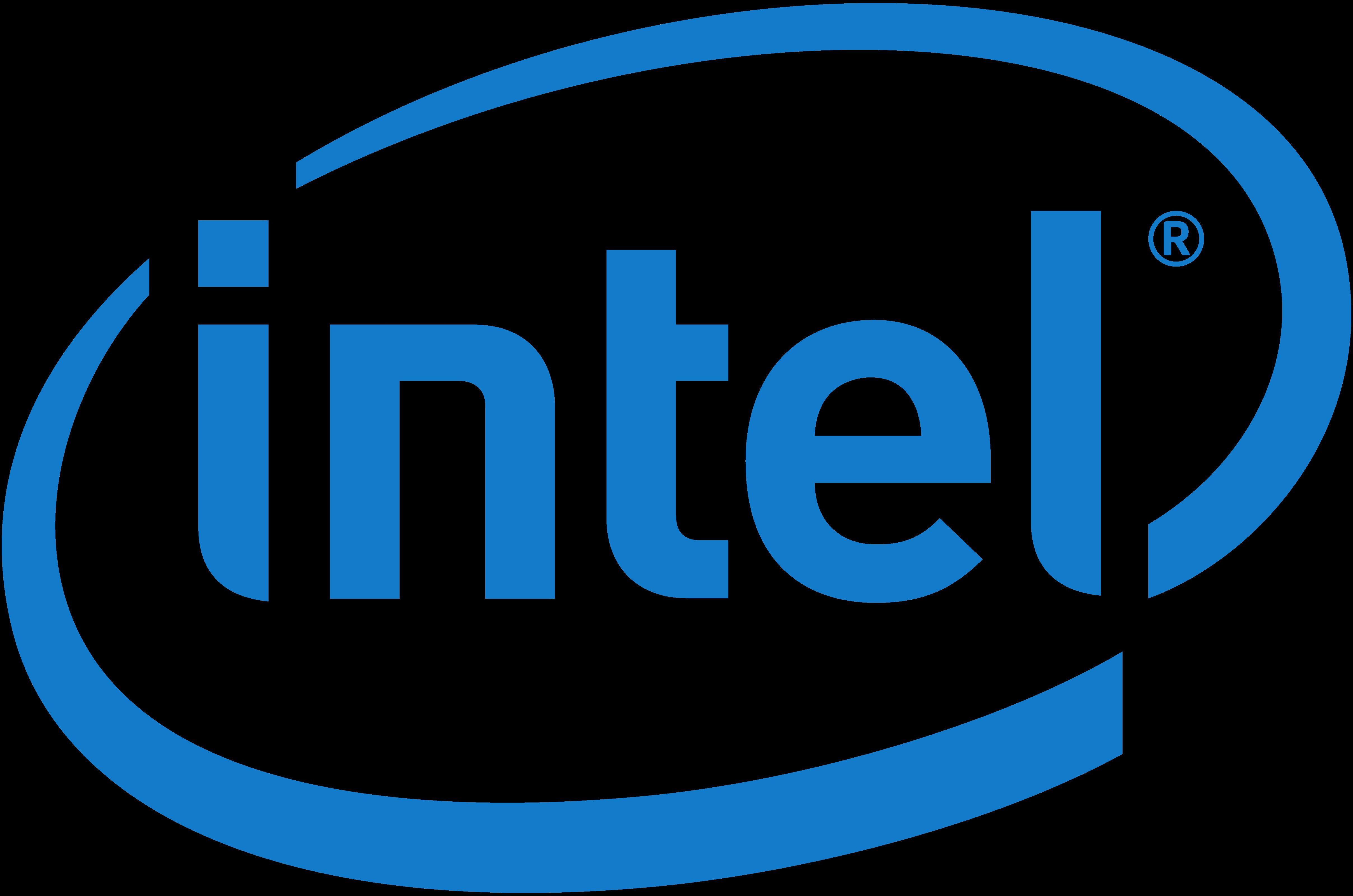 Intel Logo, Png, Transparent, Huge - Intel type, Transparent background PNG HD thumbnail
