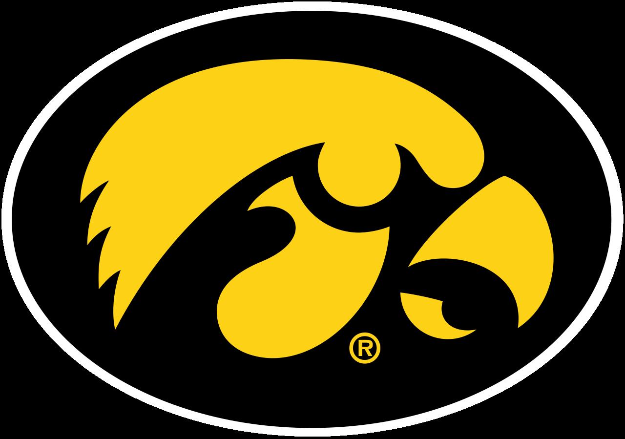 File:iowa Hawkeyes Logo.svg - Iowa Hawkeye, Transparent background PNG HD thumbnail