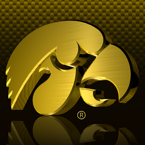 Gold Iowa Hawkeyes Wallpaper Simple Yellow Beehive Decoration Reflection Personalized Sample - Iowa Hawkeye, Transparent background PNG HD thumbnail