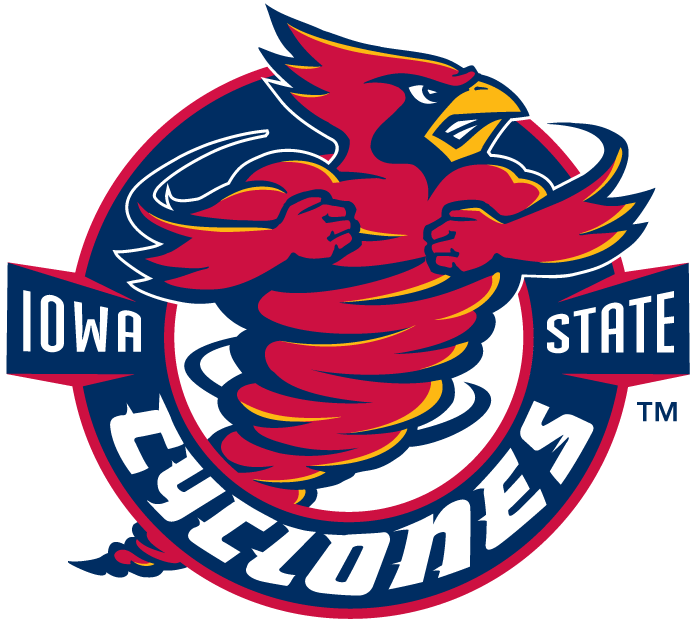 Iowa State Cyclones Alternate Logo Clipart - Iowa State Cyclones, Transparent background PNG HD thumbnail