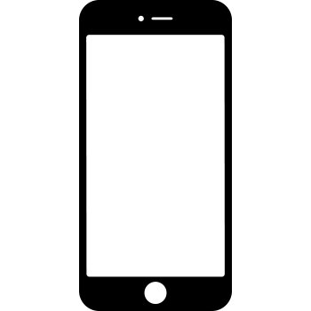Iphone PNG Black And White