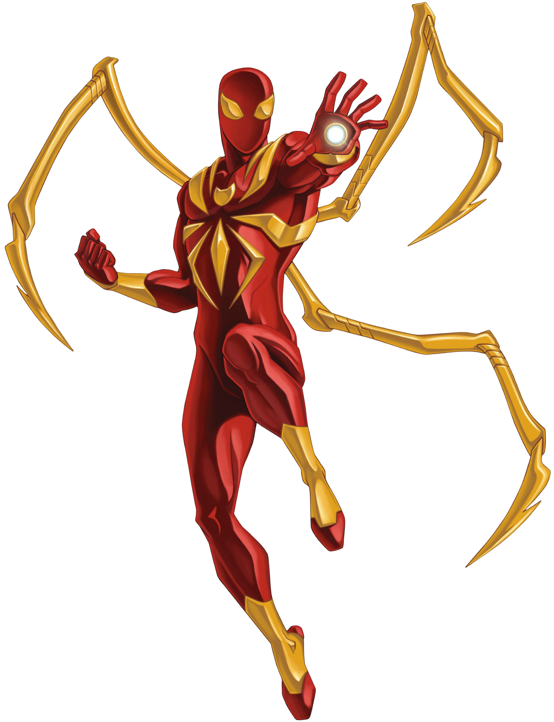 Iron Spiderman PNG