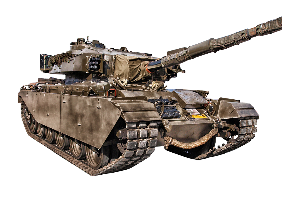 Isolated, Transparent, Military, Vehicle, Tank, War - Military Tank, Transparent background PNG HD thumbnail
