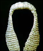 Medieval Judge With Wig 60 - Judge Wig, Transparent background PNG HD thumbnail