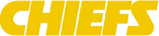 File:kansas City Chiefs Yellow Wordmark.png - Kansas City Chiefs, Transparent background PNG HD thumbnail