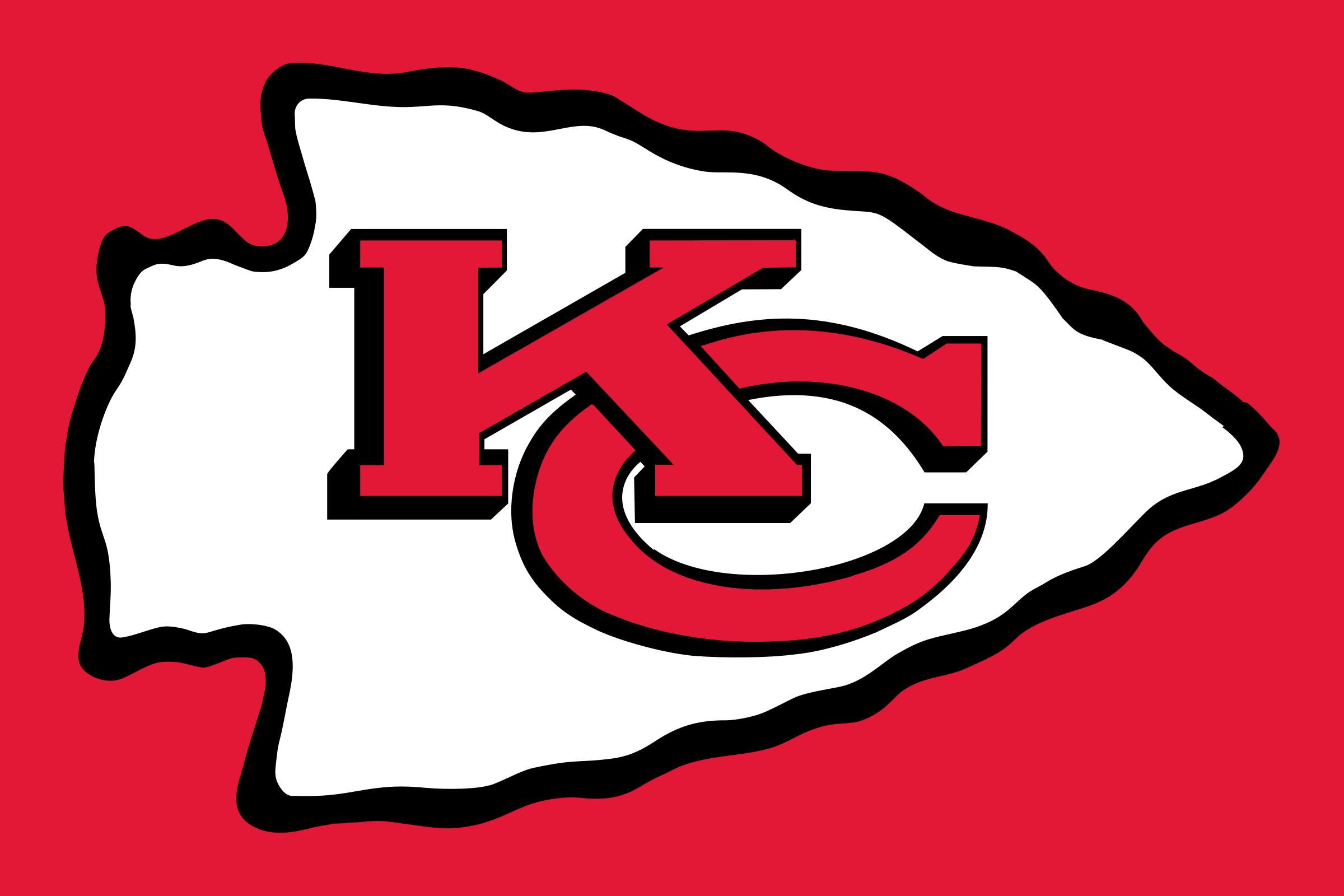 Kansas City Chiefs Arrowhead Logo - Kansas City Chiefs, Transparent background PNG HD thumbnail