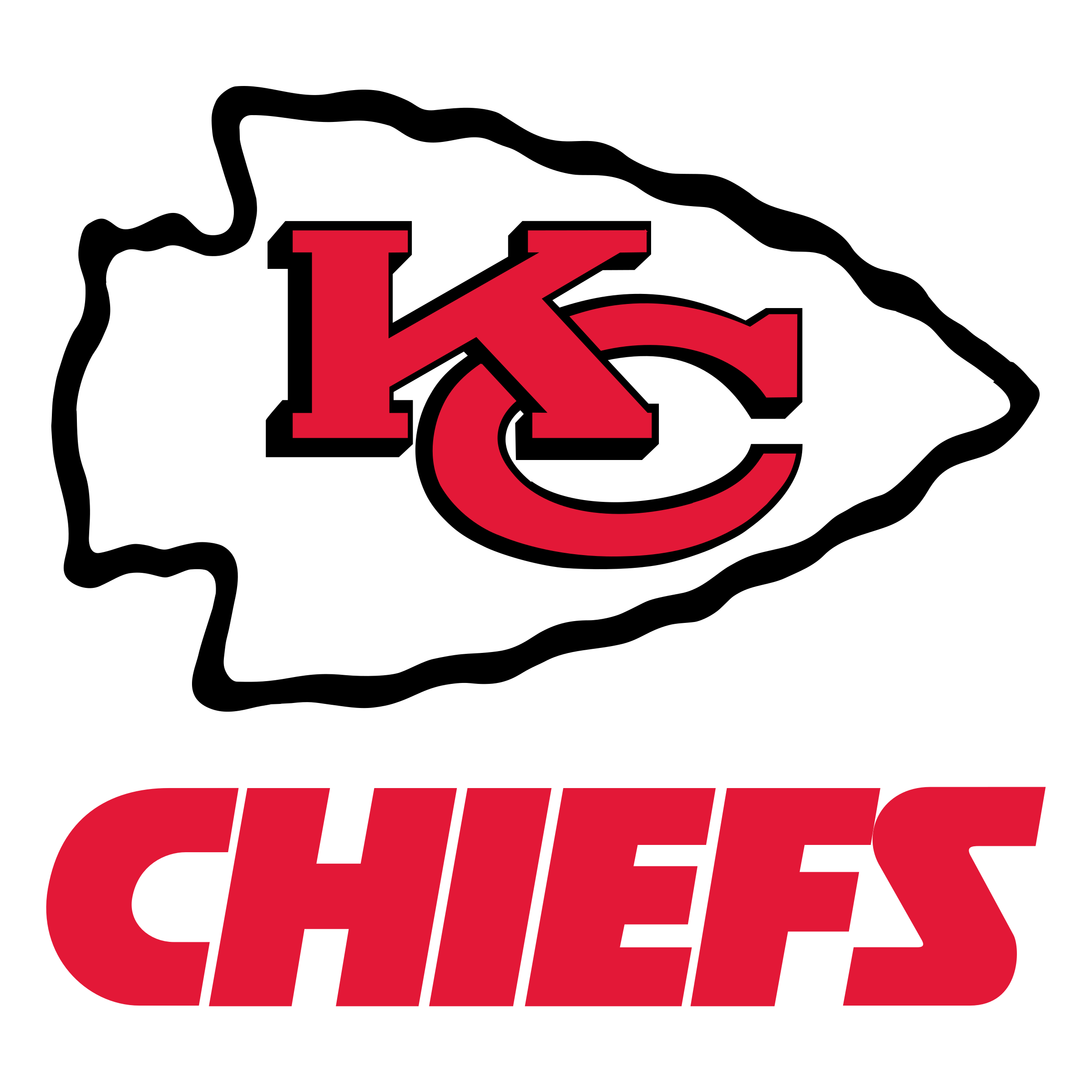 Kansas City Chiefs Football Logo - Kansas City Chiefs, Transparent background PNG HD thumbnail