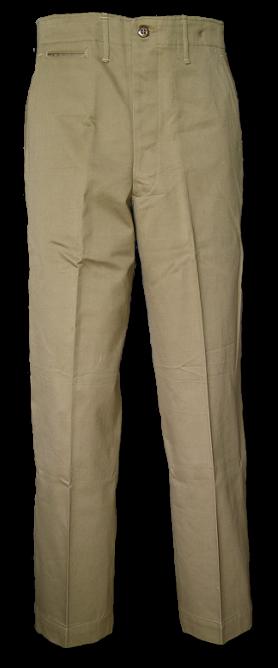 Khaki Pants Png - Special Khaki Cotton Trousers Spec. 6 254 Front View., Transparent background PNG HD thumbnail