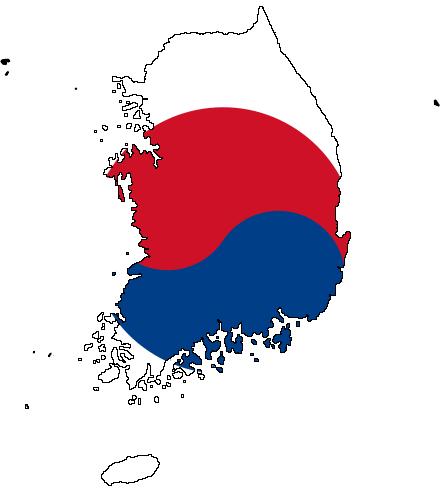 File:flag Map Of South Korea.png - Korea, Transparent background PNG HD thumbnail