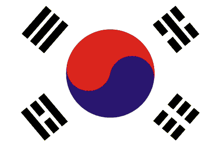 File:flag Of South Korea (1949 1984).png - Korea, Transparent background PNG HD thumbnail