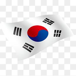 Korea Flag, Korea, Flag, Rise Flag Png And Vector - Korea, Transparent background PNG HD thumbnail