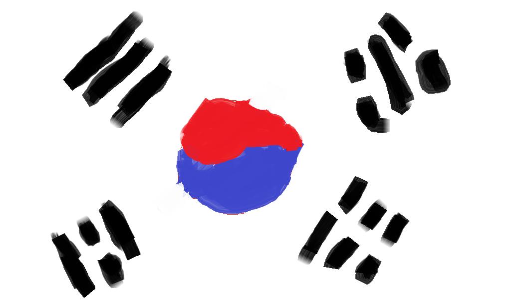 South Korea Flag By Bigdaddy820 Hdpng.com  - Korea, Transparent background PNG HD thumbnail