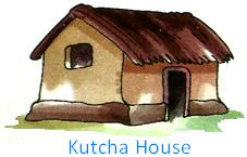 Kutcha House Png - Kutcha Houses, Transparent background PNG HD thumbnail