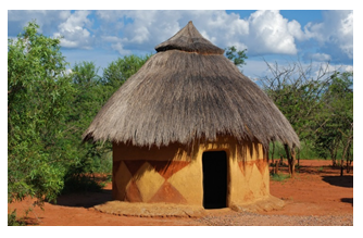 Kutcha House Png - These Types Of Houses Are Built In Villages. Mud Wall And Straw Roof Keeps House Cool In Summer., Transparent background PNG HD thumbnail