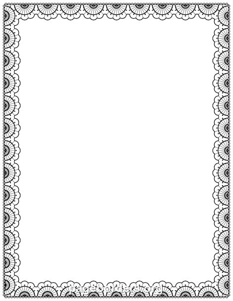 Description. Black Lace Border. - Laceborder, Transparent background PNG HD thumbnail