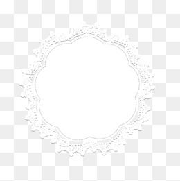 Lace Border, Lace, White, Flower Type Png Image - Laceborder, Transparent background PNG HD thumbnail